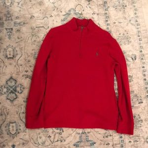 Red Ralph Lauren Polo sweater
